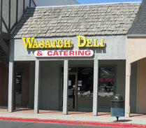 The Wasatch Deli in Sandy, Utah