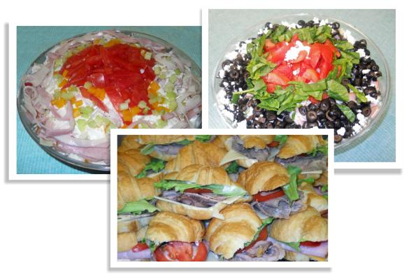 Wasatch Deli offers a wide variety of delicious salads and sandwich platters.